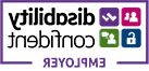 Disability confidence logo